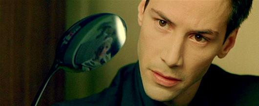 """""""Ложки нет"""" - цитата из фильма «Матрица». Цвета тоже нет."""