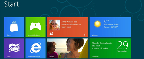 Windows 8 - восьмые окна