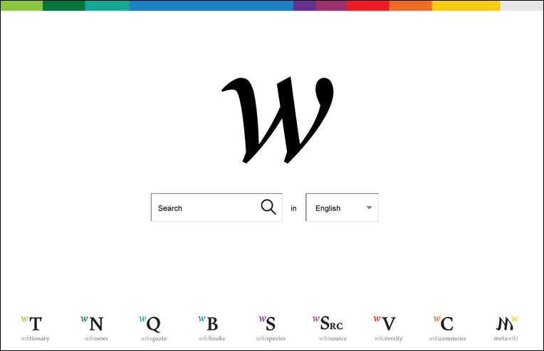 Новый дизайн сайта Википедии