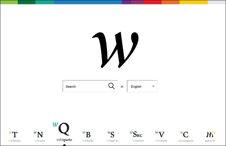 Перейти на другой проект в Википедии в новом дизайне - нет ничего проще