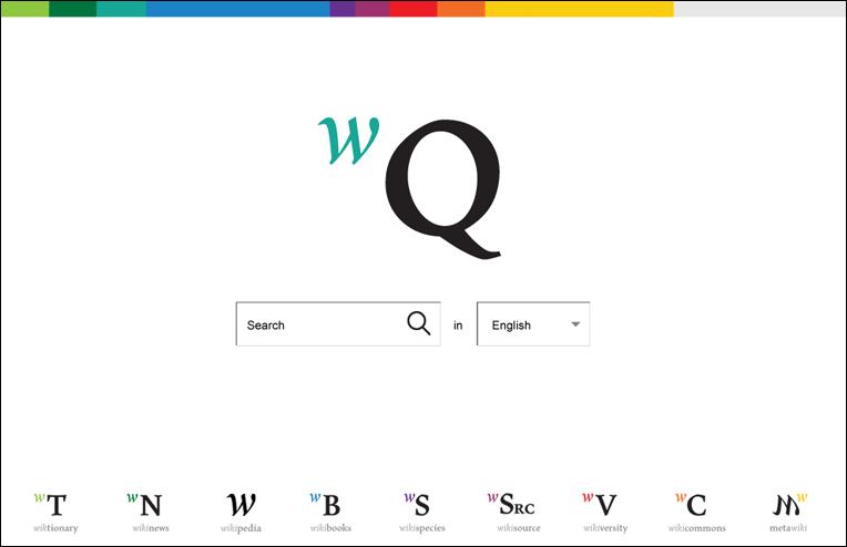 Переход на соседний вики-проект в новом дизайне Википедии