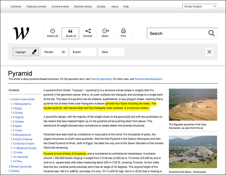 Фломастер в Википедии